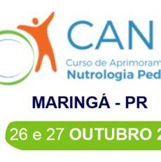 Curso de Aprimoramento em Nutrologia Pediátrica – Maringá  26 e 27 de Outubro
