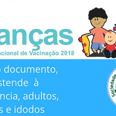 Calendário de Vacinação 2018 – Confira o protocolo para todas as faixas etárias