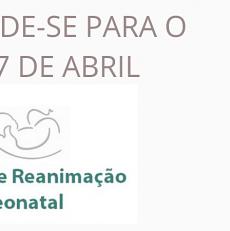 Curso de Reanimação Neonatal – será no dia 27 de abril… agende-se!