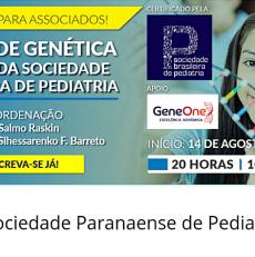 Curso a distância gratuito sobre Genética da SBP para associados com o Dr. Salmo Raskin