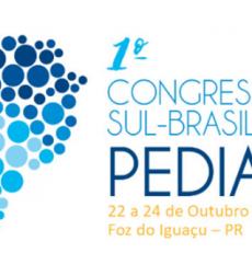 1° Congresso Sul-brasileiro de Pediatria, Foz do Iguaçu – Inscrições Abertas