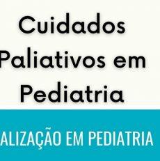 Atualização em Pediatria – 02 de Setembro – Departamento de Cuidados Paliativos