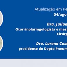Atualização em Pediatria – Dras. Juliana Cavichiolo e Lorena Brzezinski